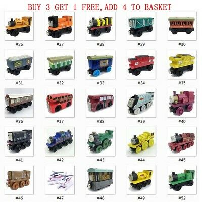 2018 The Tank Engine Tender Wooden Magnetic Railway Train Toys Car Kids Gifts UK