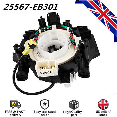 1X Airbag Clock Spring Squib Spiral Cable For Nissan Navara Qashqai X-Trail UK
