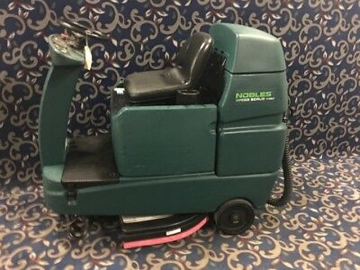"""Nobles Speed Scrub (Tennant T7) 32"""" ride on floor scrubber with FREE shipping"""
