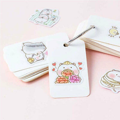 Cute Waterproof PVC Decal Crafts Home Decors Decoration Sticker DIY Album