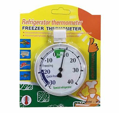 Thermometer Temperature Gauge Measure Heat Energy Weather Refrigerator Freezer