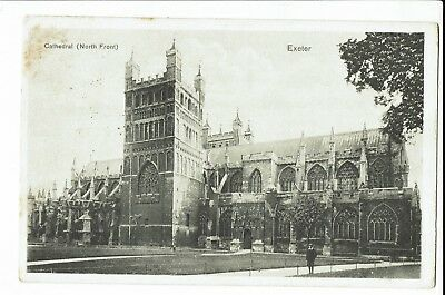 CPA -Carte postale-Royame Uni - -Exeter - Cathedral - 1909 - S1144