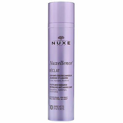 NEW Nuxe Nuxellence Eclat Youth & Radiance Revealing Anti-Aging Care All Skin Ty