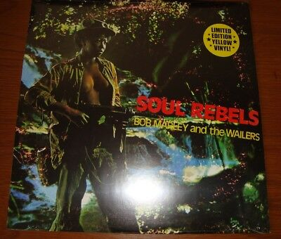 Bob Marley & The Wailers-Soul Rebels 1Lp Limited Yellow Color Vinyl Ovp**