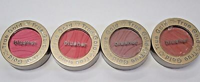 True Gold Blusher Choose Your Colour Bright Pink, Deep Pink, Bronze, Peach