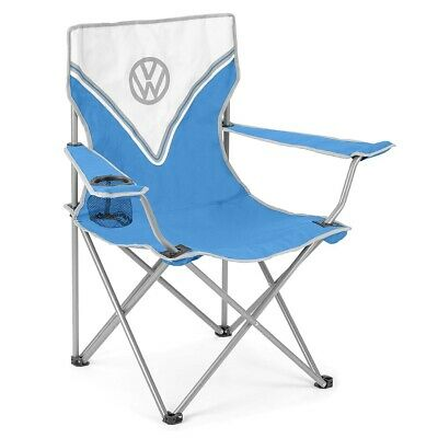 Volkswagen Camping Chair Lightweight Folding Portable Festival Seat Official VW