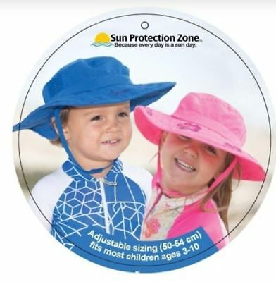 5ec15e8f621 Sun Protective Zone Boys Safari Hat UPF 50+ Child UV Protection Kids Blue  Pink