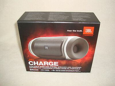 Jbl Gharge Portable Wireless Stereo Speaker And Charger With Bluetooth