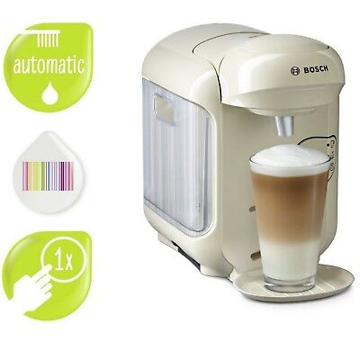 Tassimo by Bosch Vivy 2 T14 Coffee Machine Perfect Cup Of Coffee Impress Cream