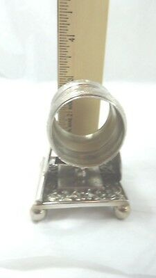 Napkin Ring Holder Two Hand fan (20) Bogers Smith