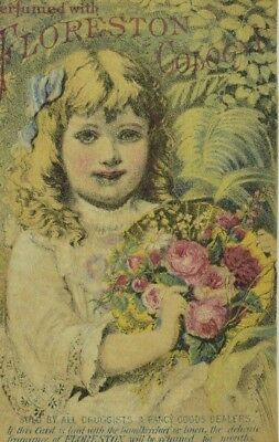 1870's Floreston Cologne, Parker's Ginger Tonic/Hair Balm Trade Card P112