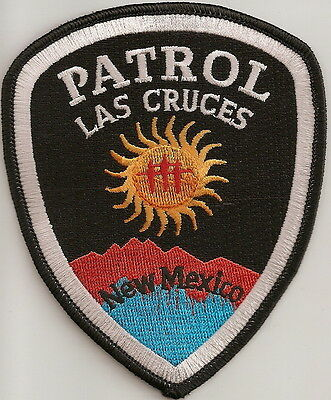 Las Cruces Patrol New Mexico NM Police patch