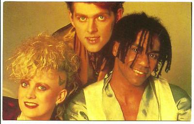 Thompson Twins - Promotional Postcard - New Wave, Synthesiser Pop