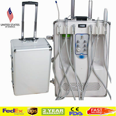 Dental Mobile Delivery Turbine Unit & Curing Light Ultrasonic Scaler Pro supply