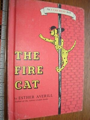 1960 The Fire Cat by Esther Averill- HB- Good condition