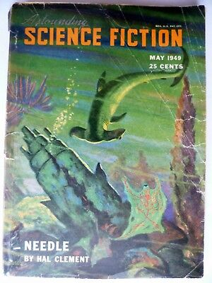 Astounding Science-Fiction   May 1949   Asimov  L Ron Hubbard