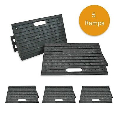 Pack of 5 - HEAVY DUTY Kerb Ramps (Perfect for HGV use) BRAND NEW