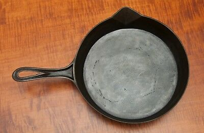 Very Nice Antique Gate Mark Cast Iron Skillet With Heat Ring,  Circa: 1878 ?