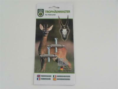 Trophäenhalter Metal - Blister Paquete - Eurohunt para Corzo 2-er Pack