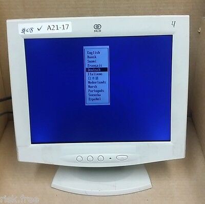 NCR POS system  12.1 inch LCD monitor 5942-3000