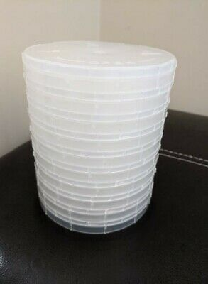 "6"" Single Wafer Carrier Box - including Container, Cover & Spring - 10set/pck"