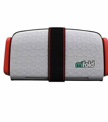 mifold Grab-and-Go Car Booster Seat, Pearl Grey NEW OPEN BOX - J20