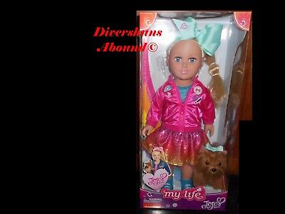 "My Life JoJo Siwa 18"" Doll Walmart Exclusive Brand New in USA by Trusted Seller"