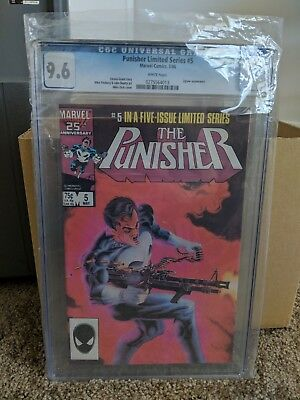 The Punisher  limited series #5 (May 1986, Marvel)