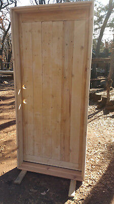 """New 36"""" x 80"""" Custom, Rustic Style, Solid Wood Entry Door ☆ Free Shipping!"""
