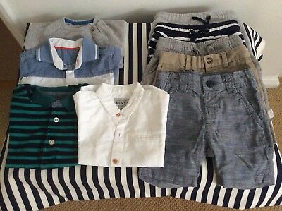Baby boys clothes bundle 12-18 months, 1 x 9-12 months,1 x 18-24 months