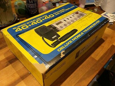 Superstar 360FM Super Star SSB CB radio with original box