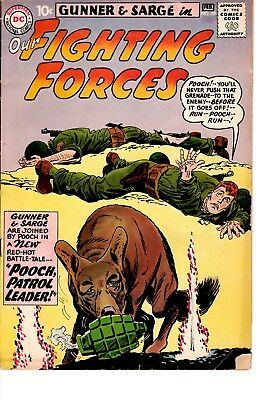 Gunner & Sarge in Our Fighting Forces #59 (Jan-Feb 1961, DC) AS FOUND