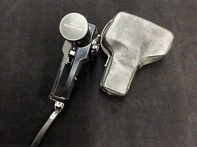 ~ ASAHI Pentax Spot Meter With Leather Case ~