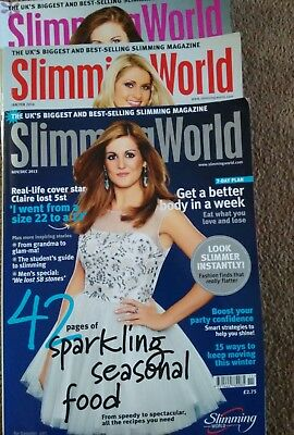 3 slimming world magazines