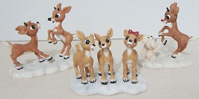 Enesco 3 Pc Rudolph And The Island Of Misfit Toys Figurines