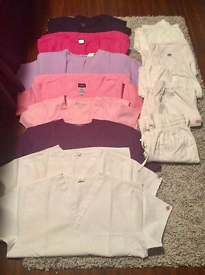 Scrubs - Size M - Lot of 8 tops 5 bottoms.