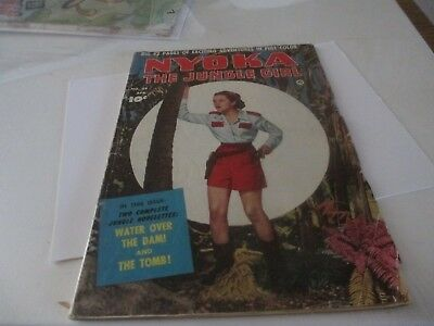 Nyoka The Jungle Girl #54 Comic Book 52 PAGES 10 CENT ISSUE 1940'S