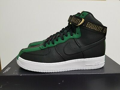 af1ae5511888 NIKE AIR FORCE 1 High Bhm Qs Black black-University Red 836227 002 ...