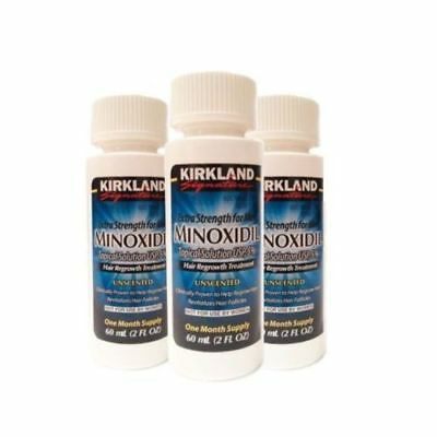 Kirkland 3 Month Supply Minoxidil 5% Extra Strength Men Hair Regrowth Solution