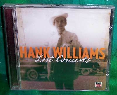 New Rare Oop Time Life Hank Williams Lost Concerts Music Cd 19 Tracks 2012