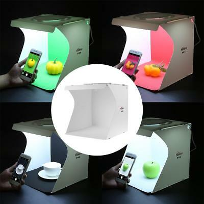 Portable LED Light Photography Soft Box Shooting Tent Photo Studio 24*23*22cm