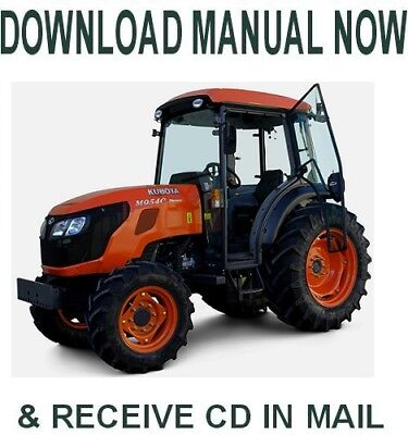 best digital kubota m8540 narrow tractor service repair workshop rh picclick com kubota m8540 repair manual kubota m8540 workshop manual