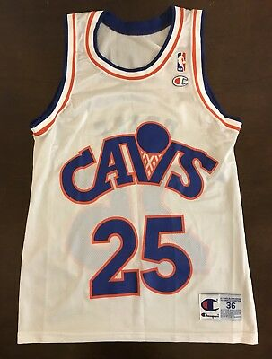6aeccc27e7be Rare Vintage Champion NBA Cleveland Cavaliers Mark Price Basketball Jersey