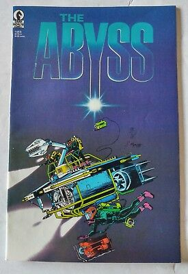 Dark Horse-The Abyss #1-First Print-James Cameron Movie Adaptation-1989