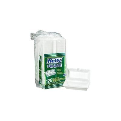 Hefty Food Service Containers 125 Ct Disposable Carry Out Restaurant Catering