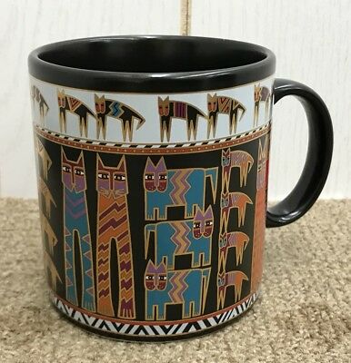 LAUREL BURCH Cat Mug Egypticat 1990 Coffee Cup Colorful Cats 2 Available