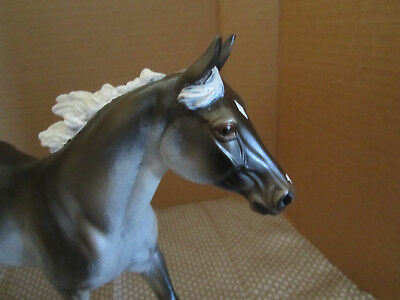 Custom Model Peter Stone Horse Frosted Olive Grulla Palouse Mare /signed EXC