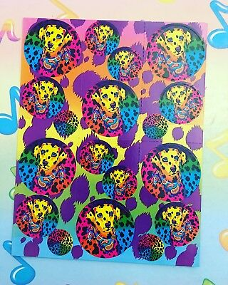 Lisa Frank Dog Stickers Vintage