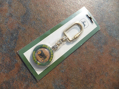 """New Packaged Sealed John Deere Model """"B"""" Collectible Key Chain"""