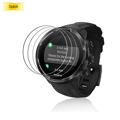 3Pcs Ultra Tempered glass Screen Protector Film For Suunto 9 G1 Baro GPS Watch